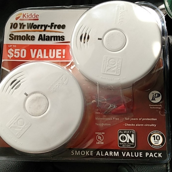 KIDDE 2-10 year long life smoke alarms